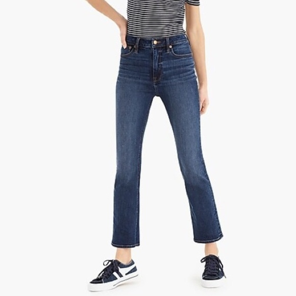 J. Crew Denim - J. Crew Curvy Demi Billie Crop Jeans